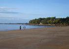 ... zunächst vom Strand ...
