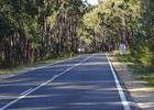 Das Verkehrsaufkommen hält sich in Grenzen, was die Fahrt umso angenehmer macht.