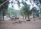 Mein Ruheplatz für die Nacht: der Trephina Bluff Campground.