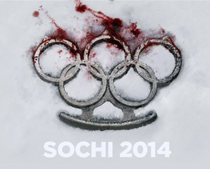 Not und Spiele - Sotschi 2014; Bild; Reporters without borders